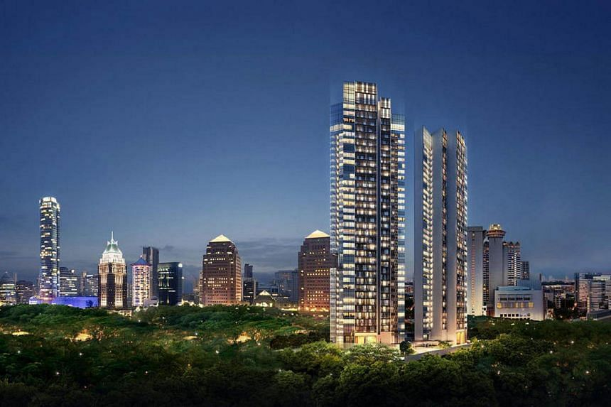 Indonesians were the top foreign buyers at the luxury OUE Twin Peaks tower, which went on sale in July.