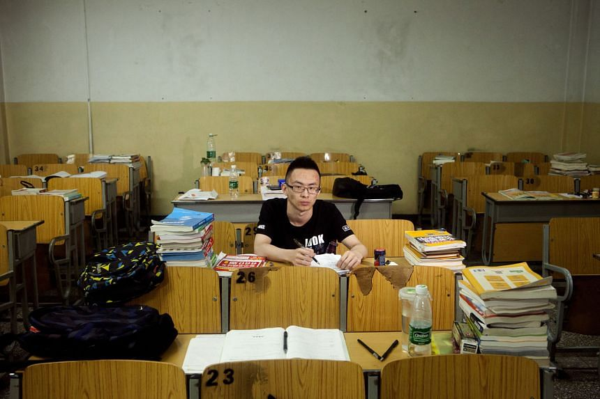 Mr Xian Guangnan, a communication engineering student at the Beijing Information Science and Technology University in Beijing. Modern facilities, productive graduate students, a culture of respect and fringe benefits, such as housing, are luring talented