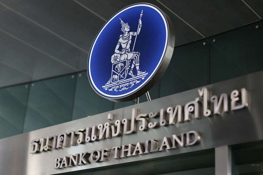 The Bank of Thailand in Bangkok.