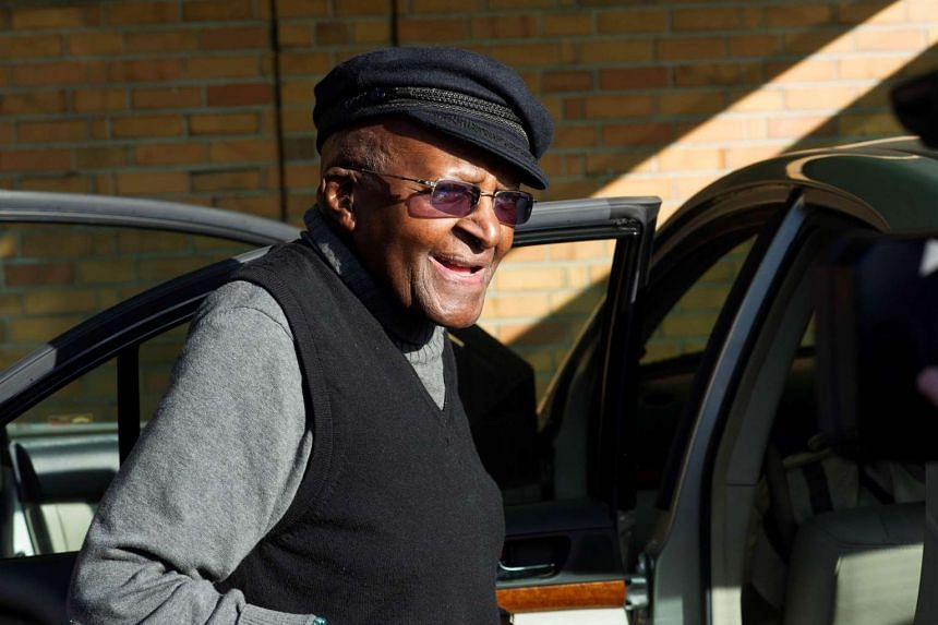 Archbishop Desmond Tutu was discharged from hospital after a successful surgery, on Sept 14, 2016.