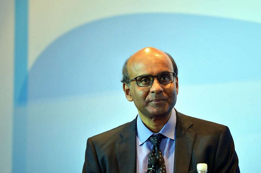 Deputy Prime Minister Tharman Shanmugaratnam at the Economic Society of Singapore Annual Dinner on Sept 13, 2016 at the Grand Mandarin Ballroom of the Mandarin Orchard Hotel.