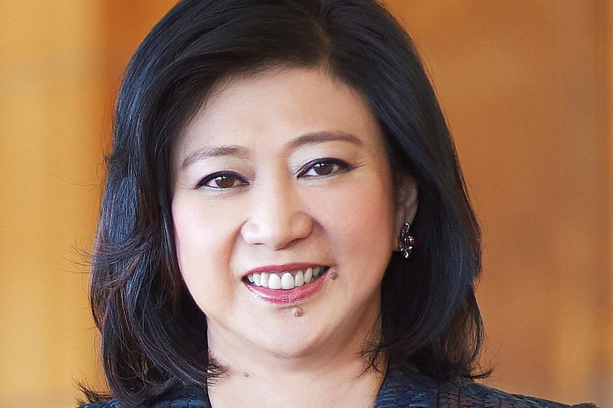 Singtel CEO Chua Sock Koong (top) and Temasek Holdings CEO Ho Ching are fourth and eighth in a list of the world's 50 most powerful businesswomen outside the US.