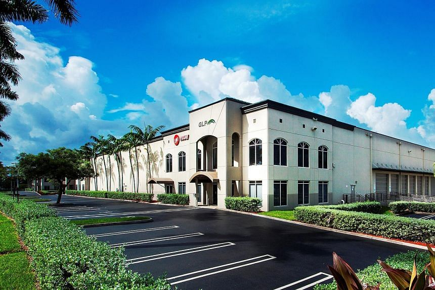 A GLP asset in Miami. GLP says it has agreed to buy a portfolio with a strong concentration in places which it expects to benefit strongly from e-commerce growth in the US. The deal will increase the number of buildings in GLP's portfolio by 32 to 1,