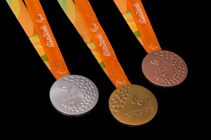 The medals at the Rio Paralympics have features that make them easier for visually impaired athletes to identify.