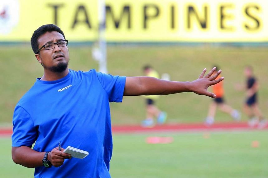 Tampines coach Akbar Nawas (above) says that his team have not been distracted ahead of their AFC Cup quarter-final first leg match in Bangalore. Violent protests and riots have rocked the Indian City this week, forcing the team to train in their hotel on