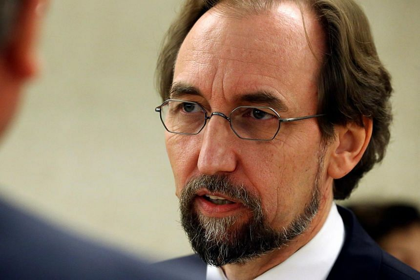 "UN rights chief Zeid Ra'ad Al Hussein (above) has said that Philippine President Rodrigo Duterte has a ""striking lack of understanding"" of its human rights institutions."