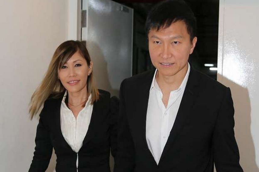 Kong Hee, CHC founder and senior pastor, and his wife Ho Yeow Sun arriving at court on Sept 15, 2016.