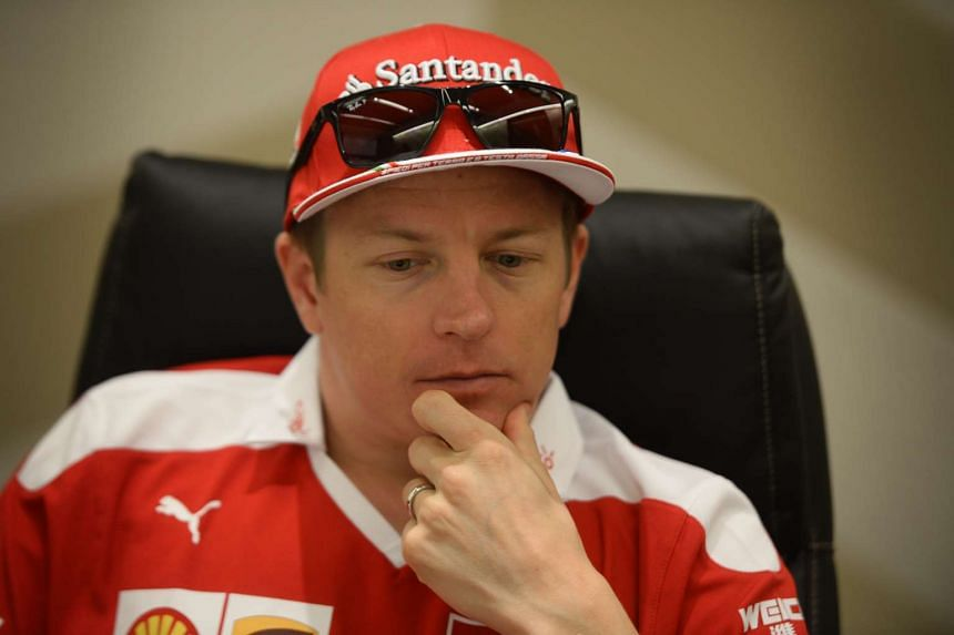 F1 driver Kimi Raikkonen speaks to The Straits Times during a one-on-one interview on  Sept 15, 2016.