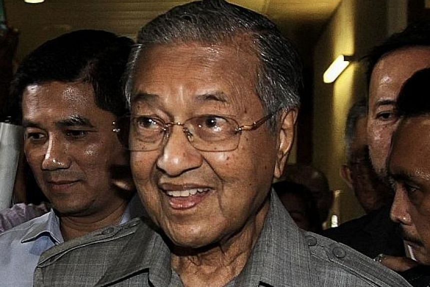 """Dr Mahathir (above) had fired Anwar as deputy prime minister on Sept 2, 1998, and the latter was later jailed on sodomy and corruption charges. Anwar's daughter Nurul Nuha now wants Dr Mahathir to own up to """"trumped-up"""" charges against her father."""