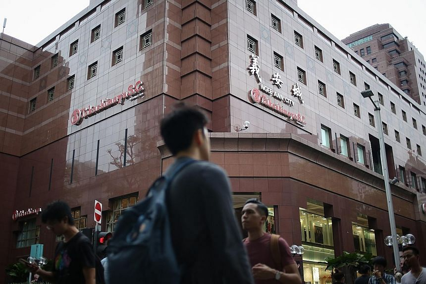 """Takashimaya was sued by Ngee Ann Development last year after both sides were unable to agree on the meaning of """"prevailing market rental value"""" in the lease agreement."""