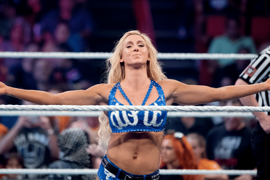 Charlotte, whose father is the legendary Ric Flair, did not consider wrestling until she was 25.