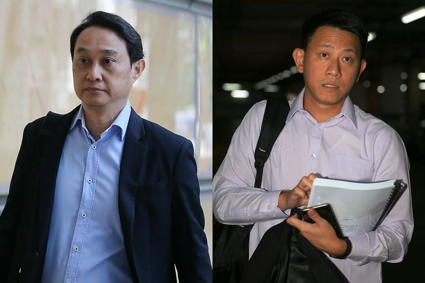 Chew Eng Han (left), former CHC fund manager and Tan Ye Peng, founding member and CHC deputy senior pastor, arriving in court for their appeals on Sept 15, 2016.