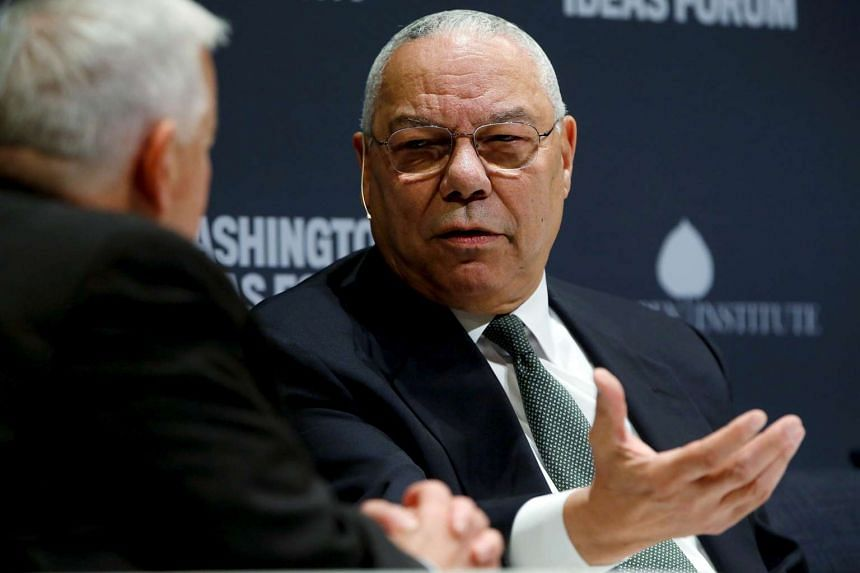 """Powell (above, in 2015) wrote that Trump """"appeals to the worst angels of the GOP nature and poor white folks""""."""