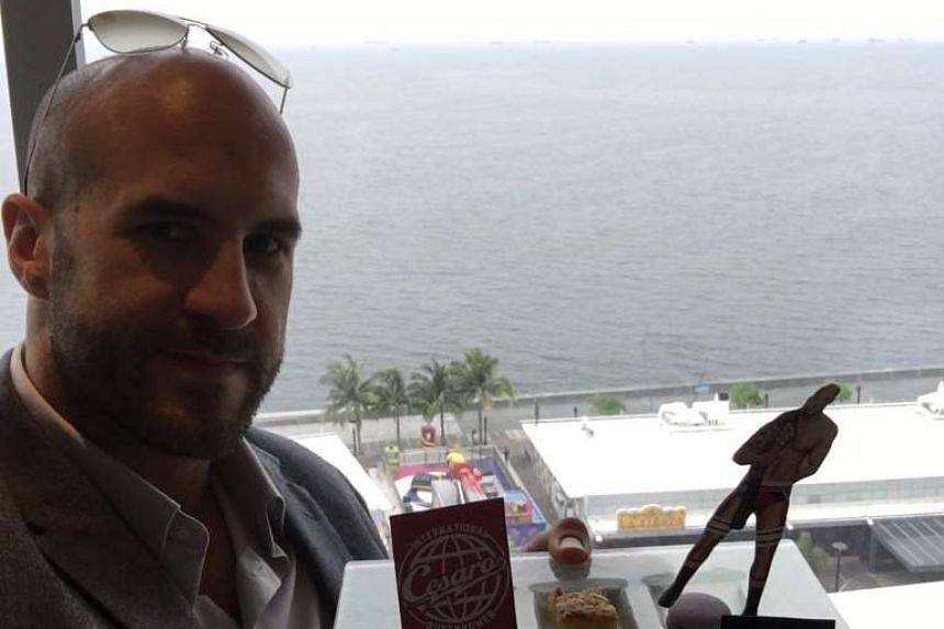 WWE star Cesaro in Manila, Philippines for a WWE show.