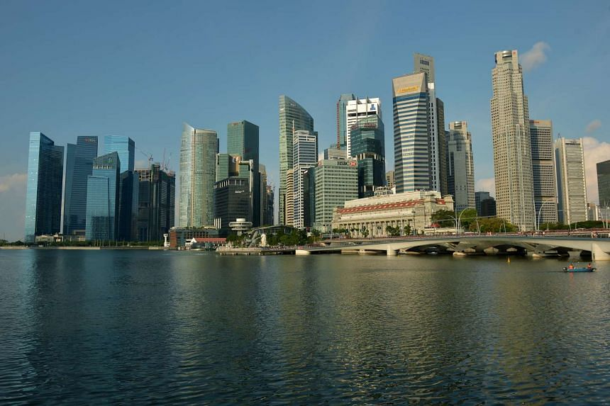 Singapore's Central Business District.