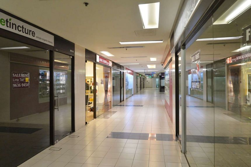 An alley in the Adelphi shopping centre.