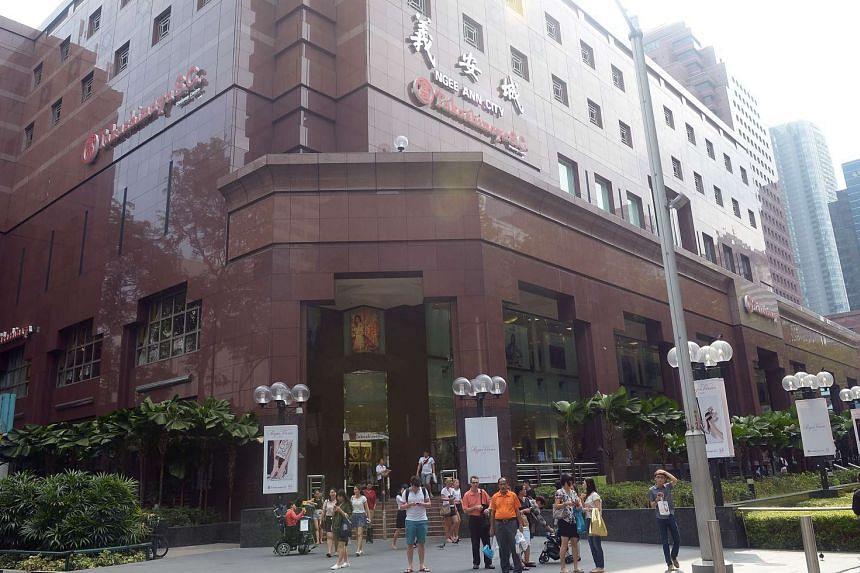 Takashimaya Shopping Centre in Singapore.