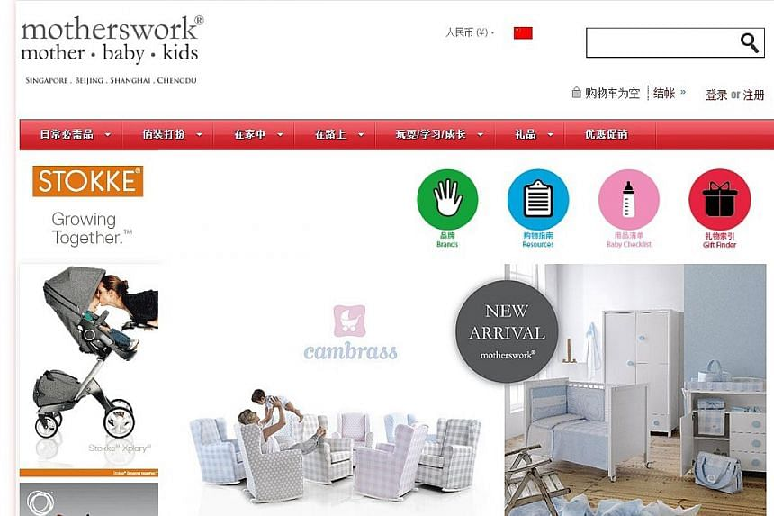 Baby product firm Motherswork