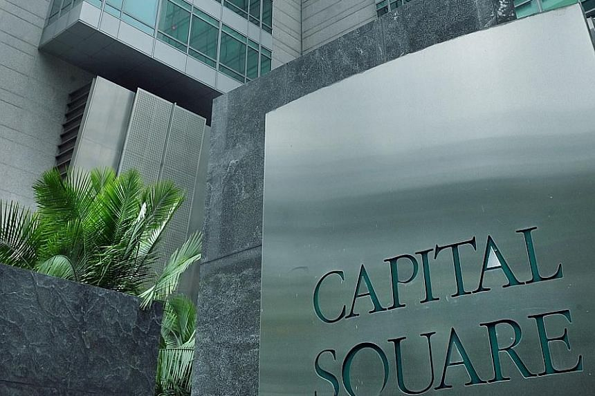 Capital Square, a 16-storey prime office building in the Raffles Place financial district. Its tenants include Morgan Stanley, Bloomberg and Citigroup.