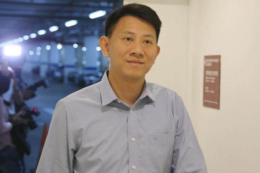 Deputy senior pastor of City Harvest Church Tan Ye Peng.