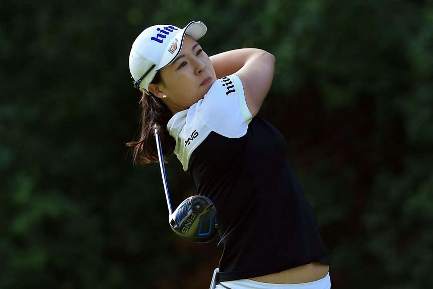 Chun In Gee (above, in a file photo) Chun, won the US Women's Open last year for her first and only win on the LPGA Tour.