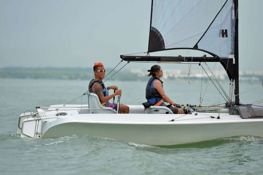 Singapore sailors Jovin Tan and Yap Qian Yin had withdrawn from the two-person keelboat (SKUD 18) sailing event at the Rio Paralympic Games on Thursday (Sept 15, Brazil time).