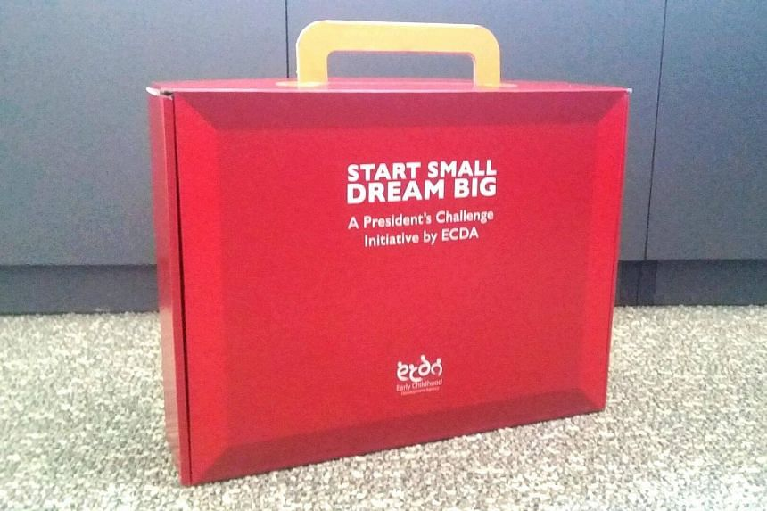 "The ""little Red Box"", which mimics the late founding Prime Minister Lee Kuan Yew's red box, was launched on Friday (Sept 16)."