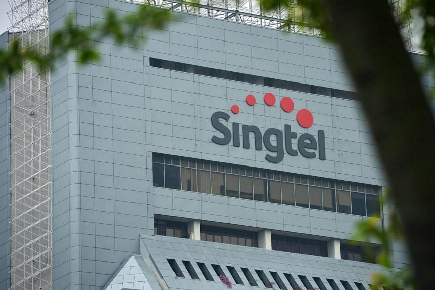 The Singtel Comcentre at Somerset.