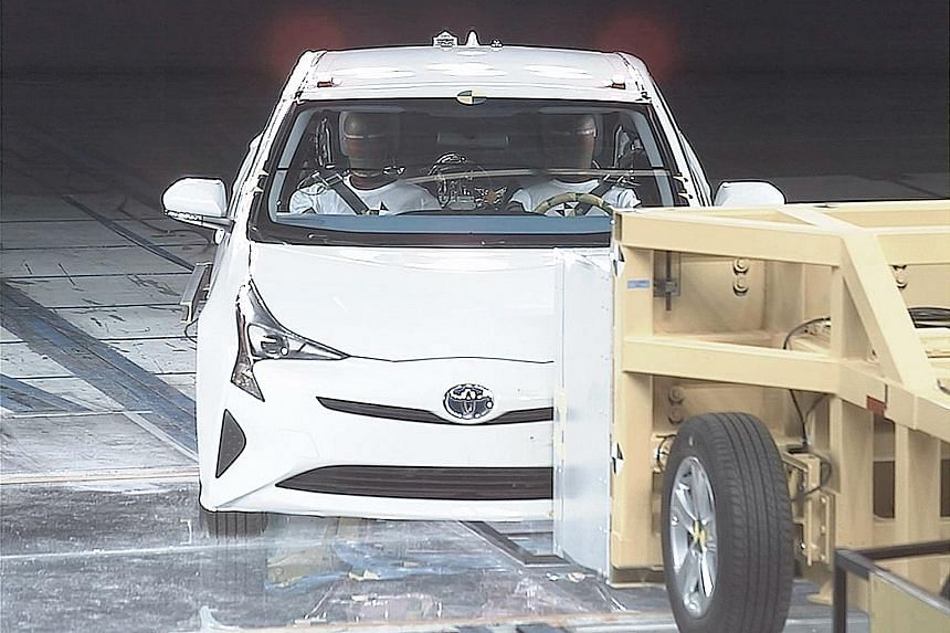 About half of the 1,600 crash tests carried out by Toyota in Japan last year were conducted at its Higashi-Fuji Technical Centre.