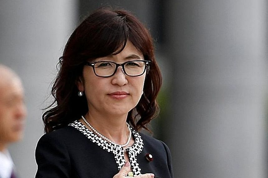 Ms Inada is known for embracking causes that irritate China.