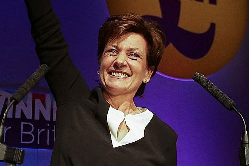 Ms Diane James pledged to make sure Britain acts on the Brexit referendum and leaves the EU.