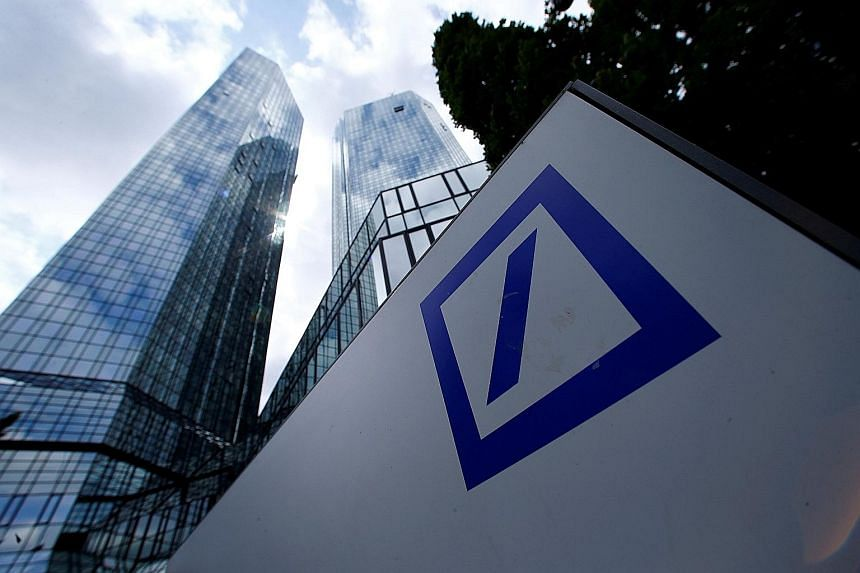 The US Justice Department sought US$14 billion to settle an investigation into Deutsche Bank's sale of residential mortgage-backed securities.
