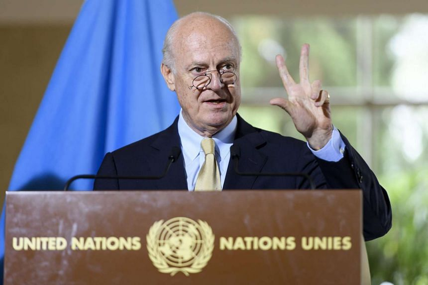 Staffan de Mistura, UN Special Envoy of the Secretary-General for Syria, speaks about the International Syria Support Group's Humanitarian Access Task Force.