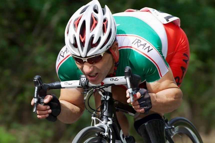 Iranian Paralympic cyclist Bahman Golbarnezhad died on Saturday (Sept 17) after an accident in the road race on the penultimate day of the Rio Games, officials said.
