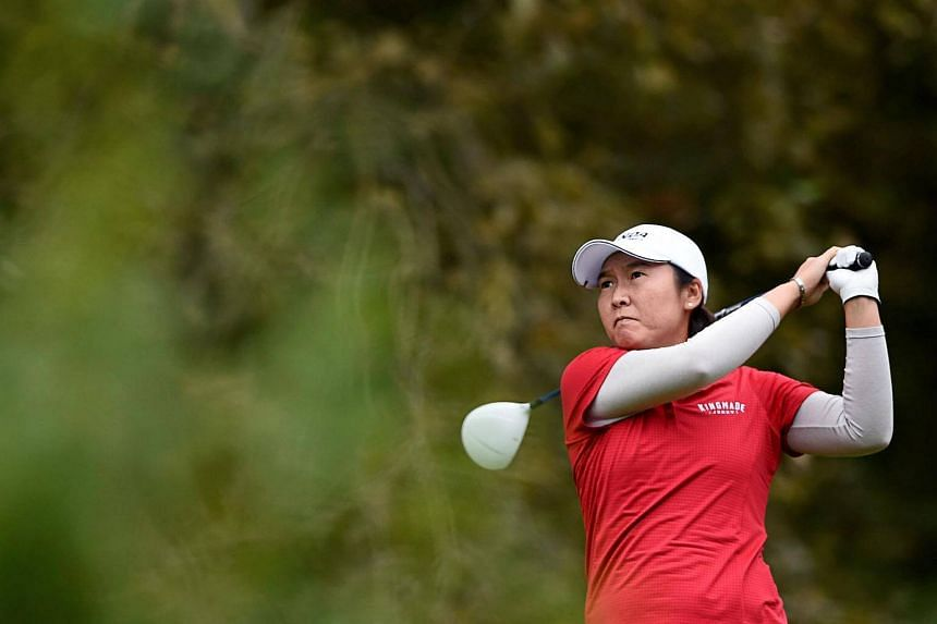 China's Candie Kung competes in the Evian Championship on Sept 17, 2016.