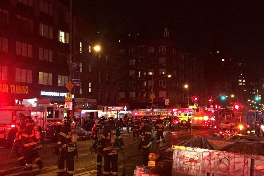 A loud explosion shook the Chelsea neighbourhood of Manhattan on Saturday (Sept 17) night, prompting New York City police and fire department personnel to swarm the area, a Reuters witness said.