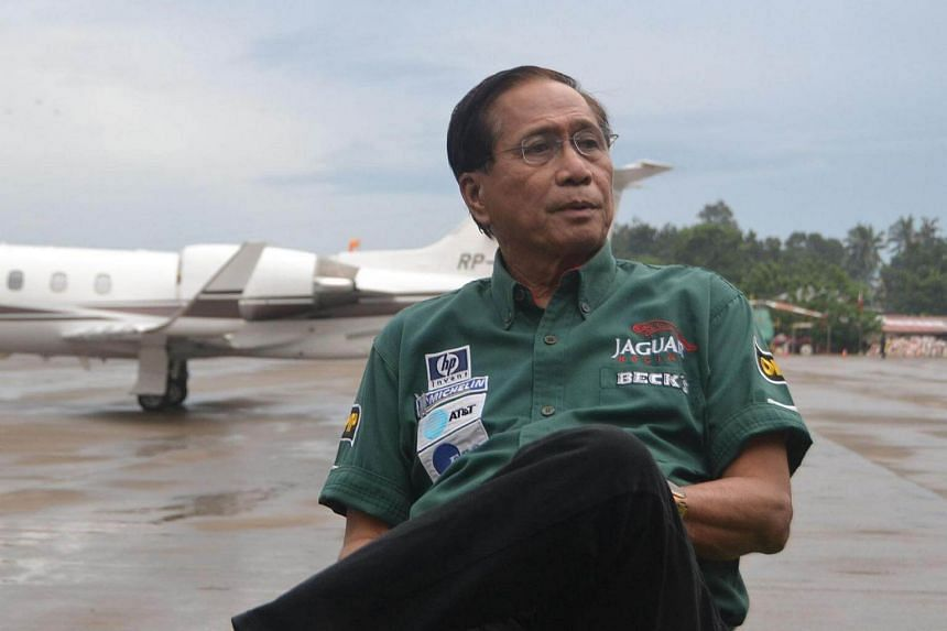 Government Peace Adviser Jesus Dureza at the airport in Jolo town in Sulu province, Mindanao on Sept 17, 2016, as he awaits the arrival of kidnapped Norwegian national Kjartan Sekkingstad.