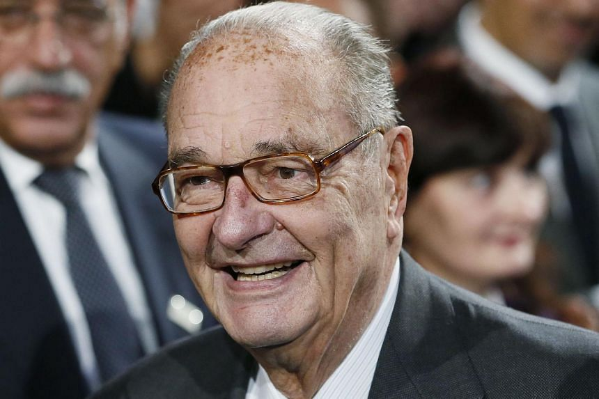 Former French president Jacques Chirac has been hospitalised with a lung infection, according to his son-in-law.