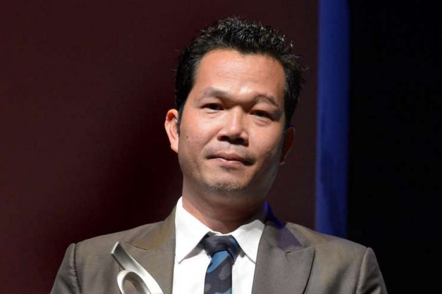 Cambodian artist Svay Sareth was the only one among the Prudential Eye Award winners to have received his cash prize.