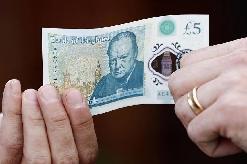 Britain has joined a legion of countries, including Singapore, in embracing polymer plastic notes, with a new £5 (S$8.90) version.