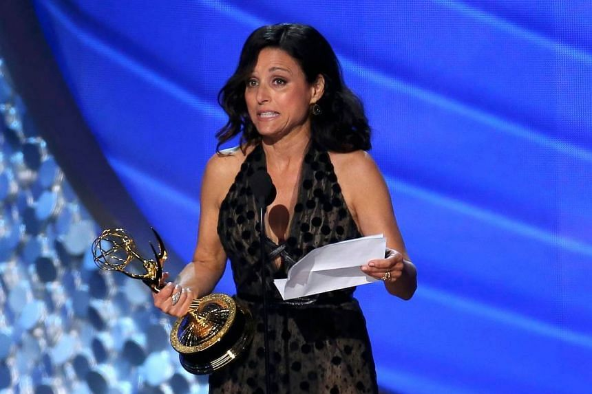 Veep star Julia Louis-Dreyfus won her fifth straight Emmy on Sunday for her role in the satirical White House comedy.