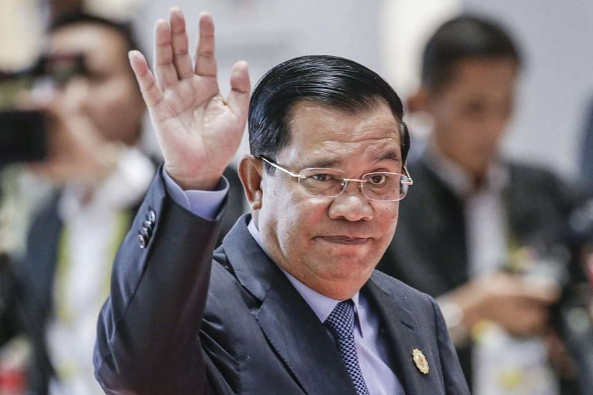"""Cambodian Prime Minister Hun Sen has vowed to """"eliminate"""" his opponents if they continue with plans for nationwide protests against a government crackdown."""