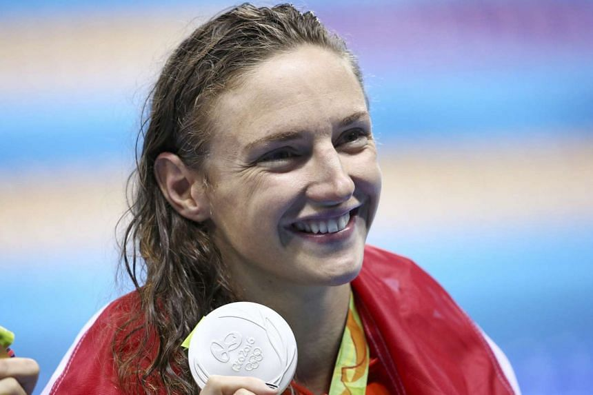 Hungarian swimmer Katinka Hosszu will be in Singapore next month for the Fina/airweave Swimming World Cup.