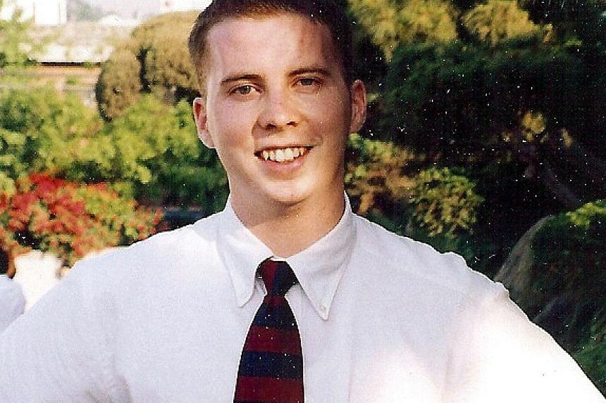 Mr David Sneddon, in a picture taken in 1999. He went missing in 2004. Four years ago, his parents received a phone call from a man in South Korea who said he had heard of a man fitting David's description who was living in Pyongyang.