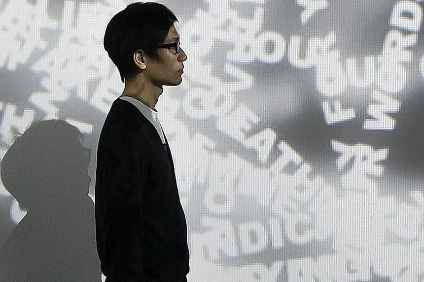 Immersive multimedia installation, Nothing, by Tsang Kin Wah (above) opened on Sept 9 at Hong Kong's M+ Pavilion.