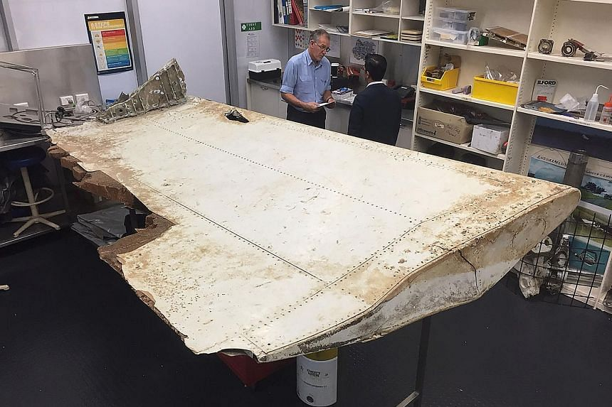 A large piece of debris (left and above) found in Tanzania recently has been confirmed to be a part of a wing flap from missing Malaysia Airlines Flight MH370. The outboard flap is the fifth piece of debris from the plane to be identified by experts