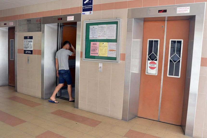 About 20,000 lifts are eligible for the new Lift Enhancement Programme.