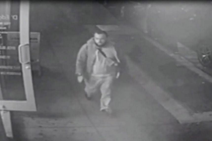 This video grab image released on September 19, 2016 by the New Jersey State Police allegedly shows Ahmad Khan Rahami.