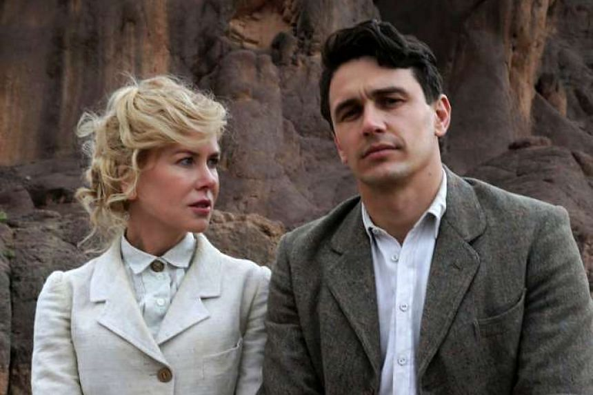 Hollywood studios are trying to get details on people who illegally downloaded Queen Of The Desert (pictured, starring Nicole Kidman and James Franco), and Fathers & Daughters.