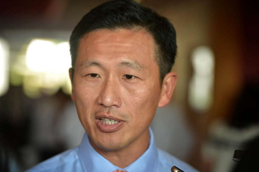 Acting Minister for Education (Higher Education and Skills) Ong Ye Kung speaking to the media at Ngee Ann Polytechnic on Jan 13, 2016.